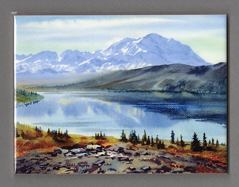 V4 Vladimir Zhikhartsev #115 WONDER LAKE, 6x8 Sublimation ceramic tile