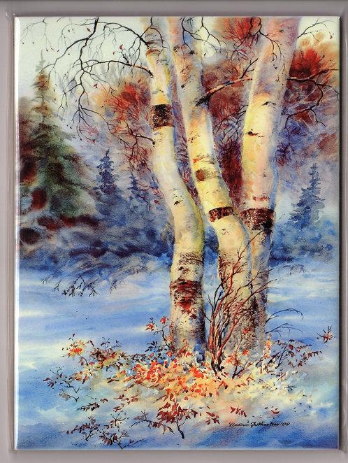 "V24 Vladimir Zhikhartsev #38 SUNBATHING BEAUTIES, 6""x8"" Sublimation ceramic tile/trivet"