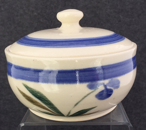 Shirley Odsather - Small casserole - Wheel Thrown Porcelain