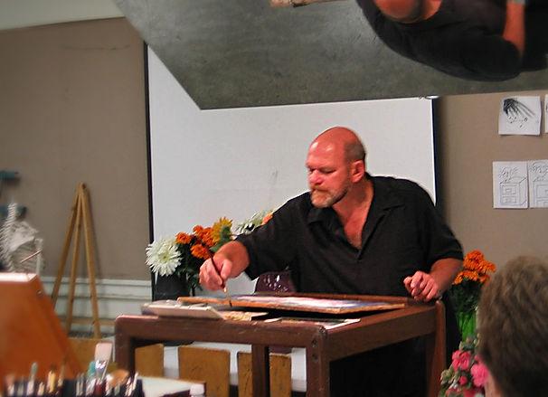 Vladimir's Watercolor painting Demonstration