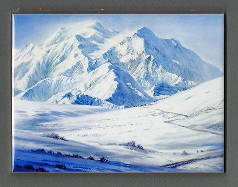 V1 Vladimir Zhikhartsev #108 RETURN TO DENALI, ceramic tile