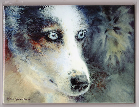 "V16 Vladimir Zhikhartsev #102  FOCUS, 6""x8"" Sublimation ceramic tile"