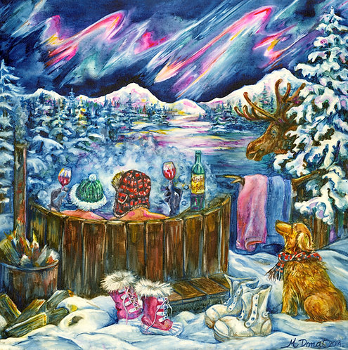Margaret Donat-Alaskan Perfection-8.5 x 11 archival print