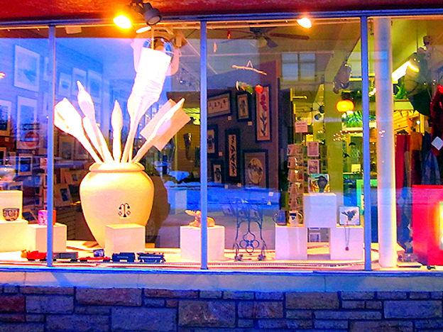 2 Street Gallery window