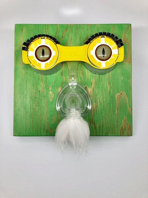 Hilda Melchior - Stuffed Nose - mixed media