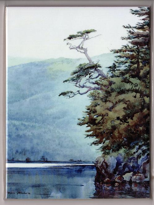 """V25 Vladimir Zhikhartsev #47 YAKOBI ISLAND, 6""""x8"""" Sublimation ceramic tile/trivet"""