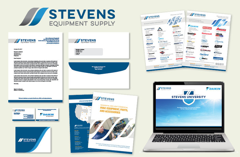 Stevens Equipment Supply Project Samples
