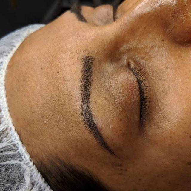 Puuurdy brows!! #browsonfleek #pmuartist