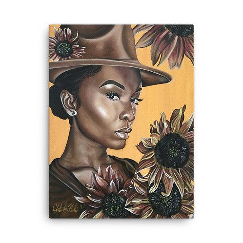 """Her"" 18x24 Canvas Print"
