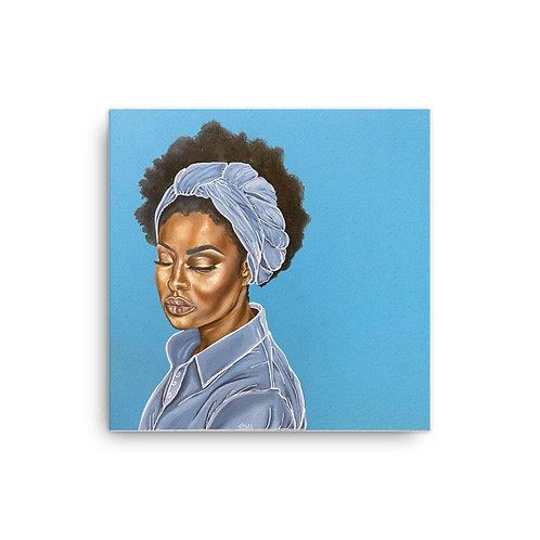 """Perfect Peace"" 16x16 Canvas Print"
