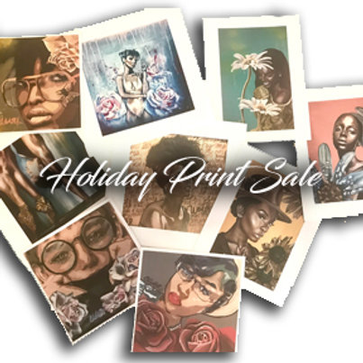 Holiday Blow Out Print Sale