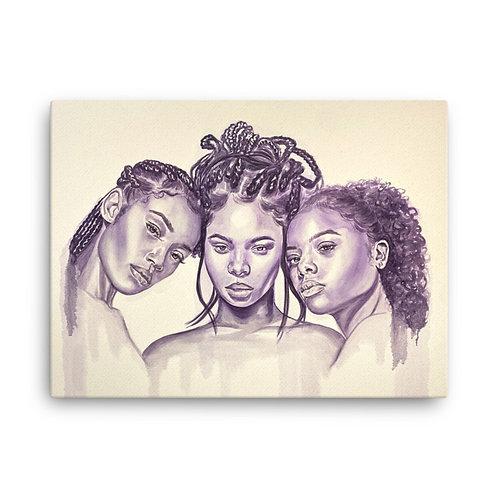 """Holy Trinity"" 18x24 Canvas Print"