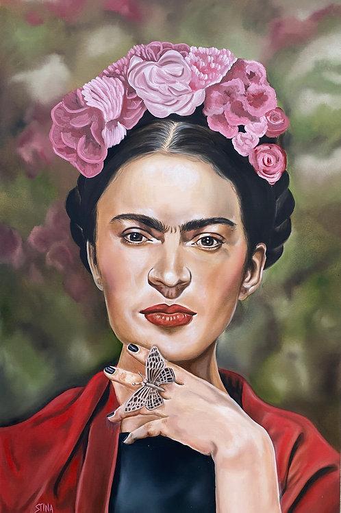 """I Was Born A Painter"" Frida Kahlo"