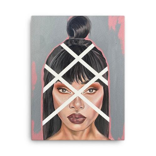 """Obstruction"" 18x24 Canvas Print"