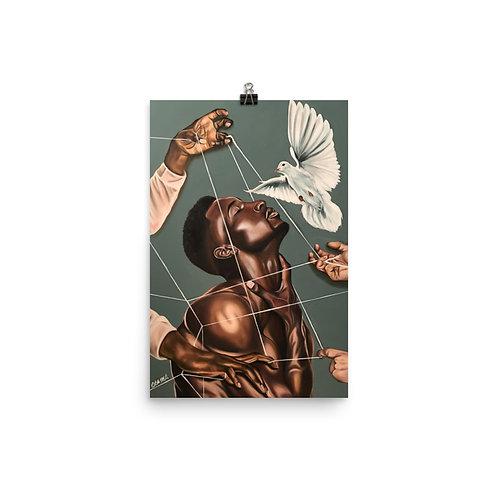 """""""Spiritual Warfare"""" 11x17"""