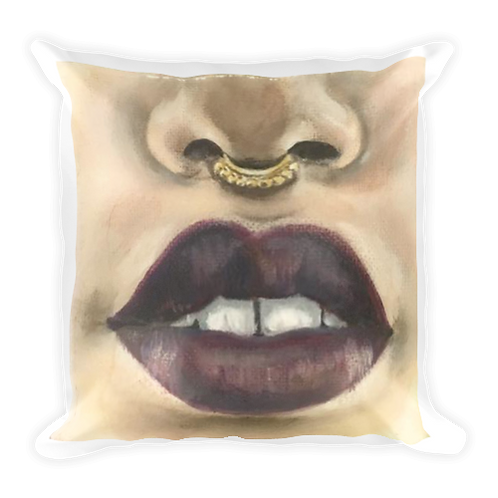 """Amore"" 18""x18"" Square Pillow"