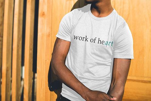 WORK OF HEART - WHITE