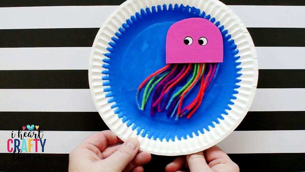 Swimming jellyfish craft