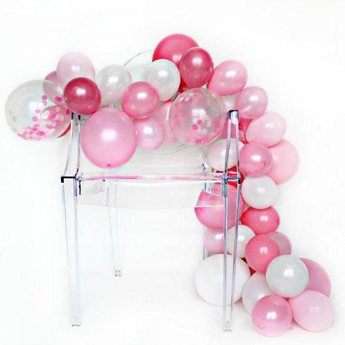 Pink Peony Balloon Garland Kit
