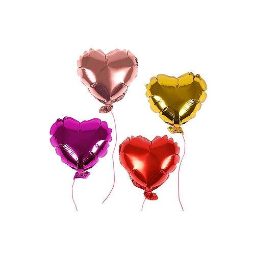Mini Heart Balloons