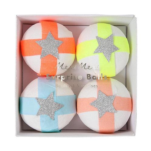 Glitter Star Surprise Balls