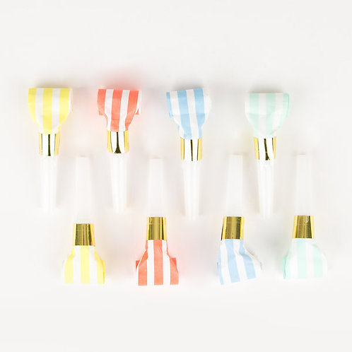 Pastel Party Blowers