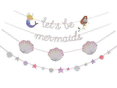 Meri Meri Lets Be Mermaids Garland