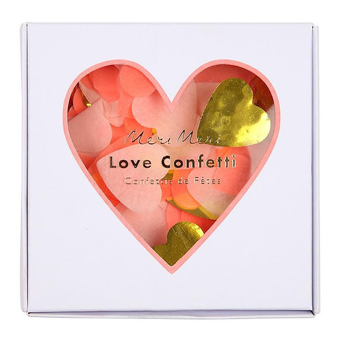 Heart Confetti Box