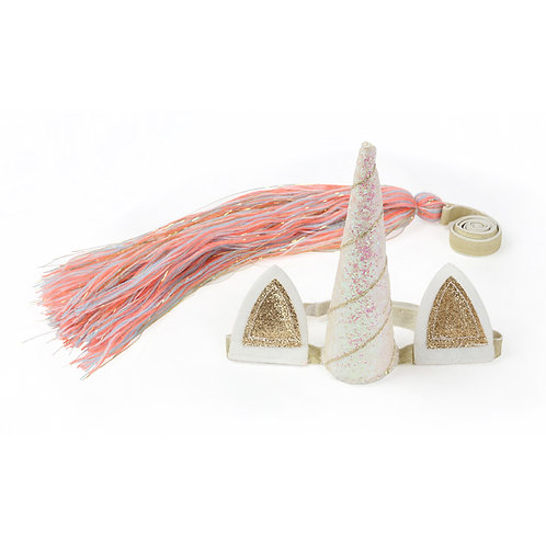 Meri Meri Unicorn Candle and Dress Up Kit