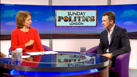 Set shot BBC London Politics