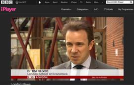 BBC London shot