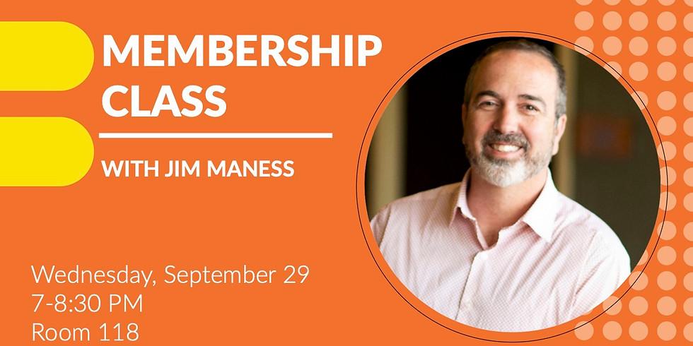 Membership Class – Sept. 29