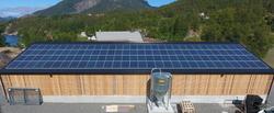 Semi-integrert solcelleanlegg