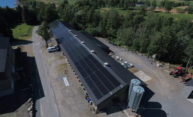 Solcelleanlegg Heskestad