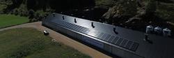Solcelleanlegg med back-up lagring