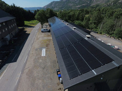 304 solcellepaneler på driftsbygg