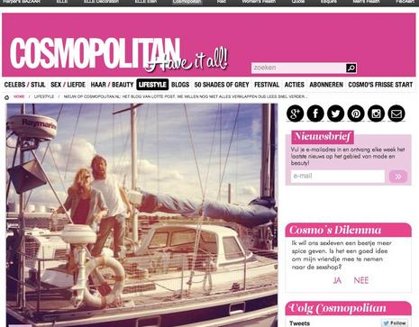 Blogger Cosmopolitan.nl