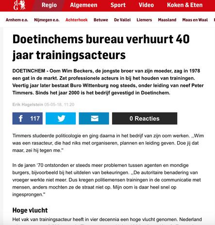 Artikel De Gelderlander