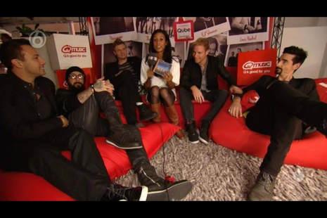 Qube Backstreet Boys / Pers coordinator Qmusic