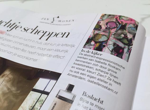 Isabelle Roskam in JAN magazine