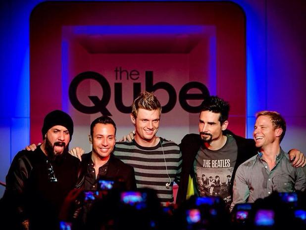 Qube met Backstreet Boys