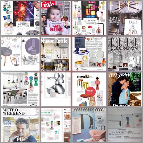 Diverse publicaties / International PR manager Fatboy