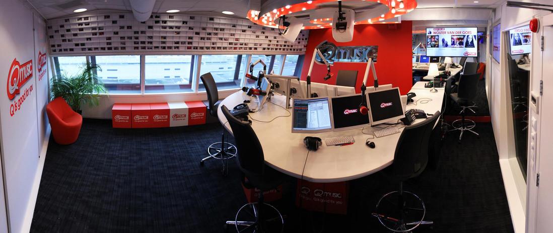 Nieuwe studio