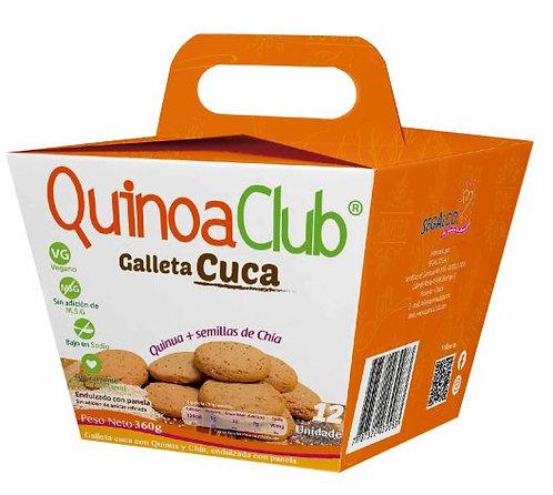 Galleta Cuca   Quinua + Semillas de Chía