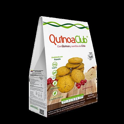 Galletas Gluten Free | Quinua, Chía y Arándanos