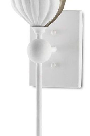 Peace Lily Wall Sconce