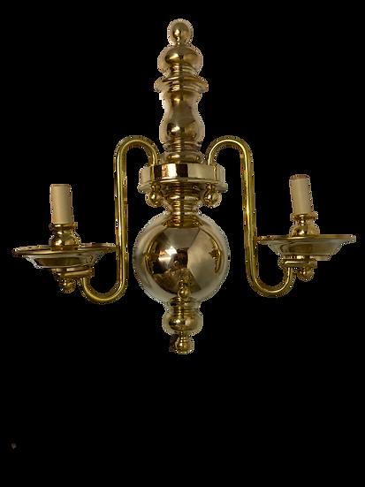 Vintage Chapman Brass Sconce