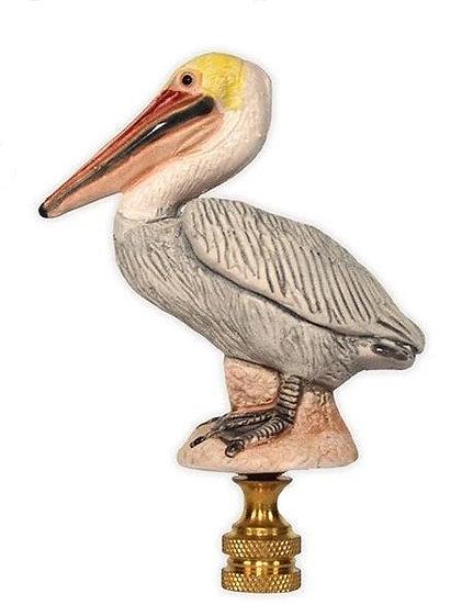 Hand-Painted Ceramic Pelican