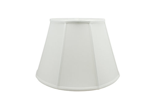 "Euro Empire Softshade in Bone or Egg Shantung 10"" - 20"""