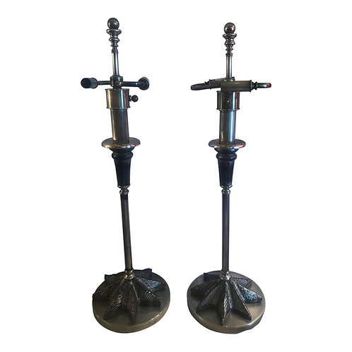 Pair of Rare Vintage Hart & Assoc. Table Lamps